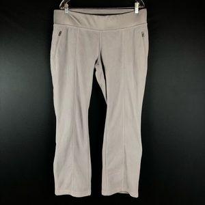 Columbia Gray Fleece Wide Leg Pants
